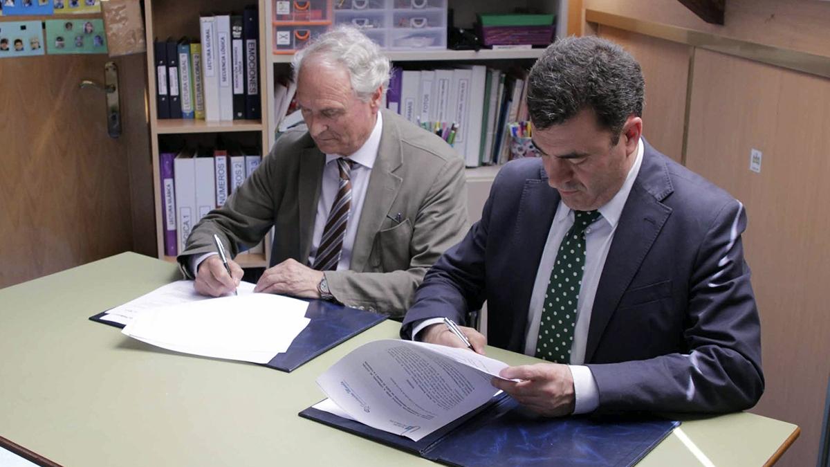 A Consellería de Cultura, Educación e Ordenación Universitaria e Fundación Menela, asinan un convenio de cooperación educativa para colaborar na atención do alumnado con Trastorno do Espectro do Autismo