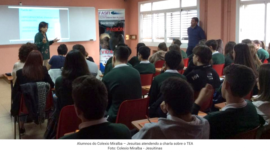 O COLEXIO MENELA PARTICIPA NAS XORNADAS DE ACCIÓN SOCIAL DO COLEXIO MIRALBA – JESUITINAS DE VIGO