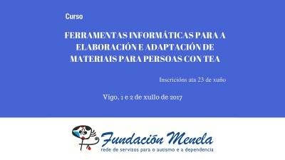 Ferramentas informáticas para a elaboración e adaptación de materiais para nenos con TEA