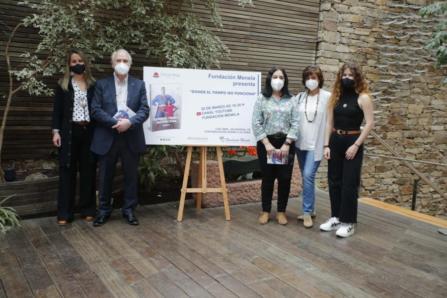 """Fundación Menela presenta """"Donde el tiempo no funciona"""" de PANUC para conmemorar o Día Mundial de Concienciación sobre o Autismo"""