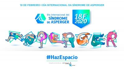 #HAZESPACIO AS PERSOAS CON SÍNDROME DE ASPERGER. POLO RECOÑECEMENTO DOS SEUS DEREITOS E A IGUALDADE DE OPORTUNIDADES
