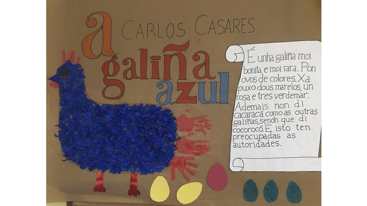 Menela homenaxea a Carlos Casares
