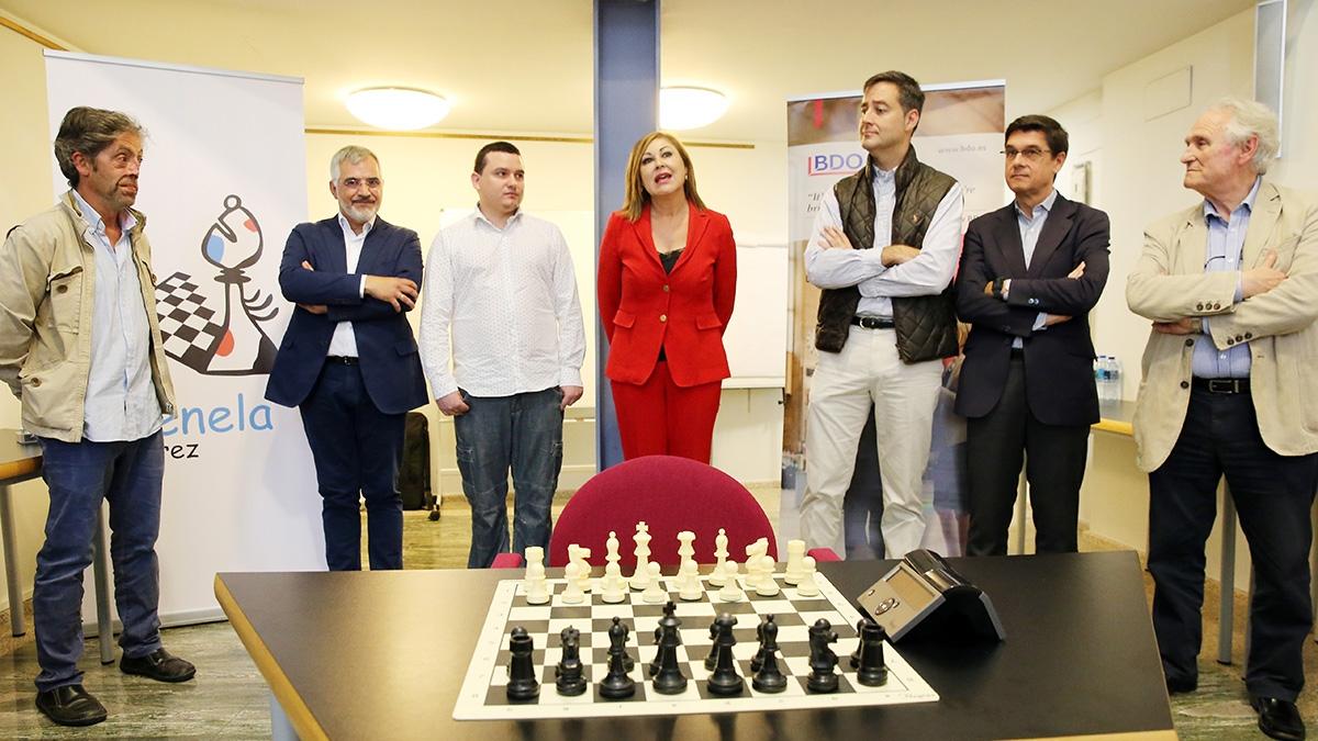 Fundación Menela presenta o Equipo Menela Xadrez e celebra o I Torneo Fundación Menela de Xadrez