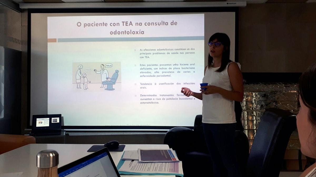 O PACIENTE CON TEA NA CONSULTA DE ODONTOLOXÍA