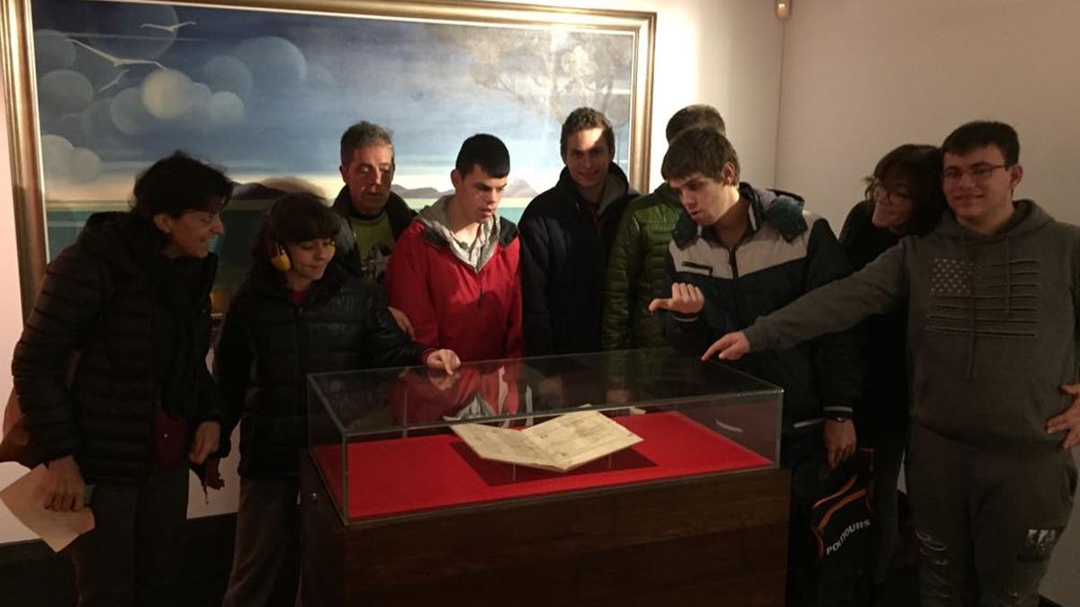 Visitamos o Pergamiño Vindel