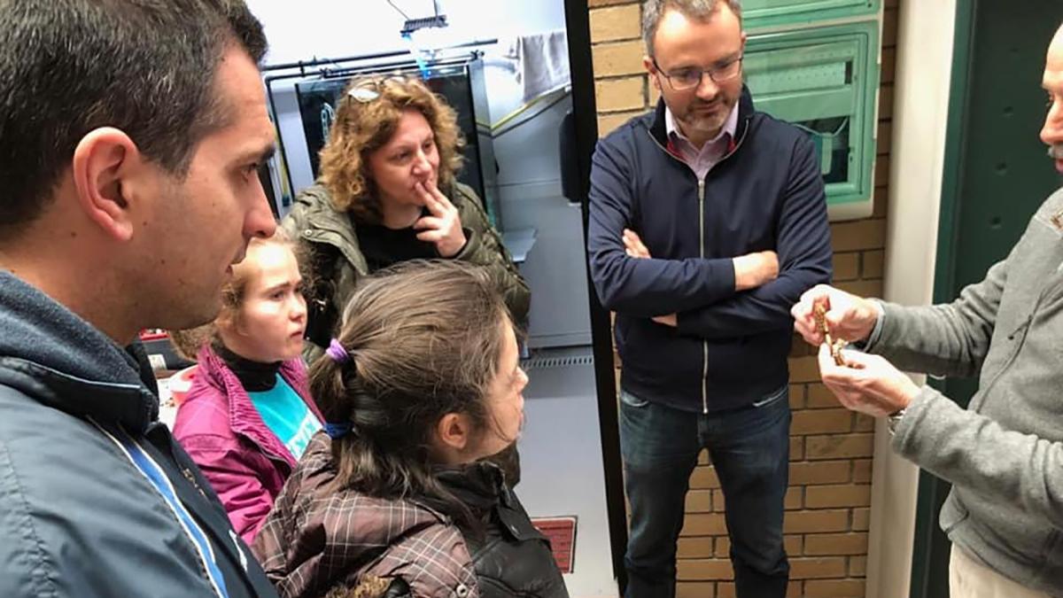 Visitamos o Instituto de Investigación Mariñas de Vigo